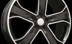 9.00X20 Black Stormer Alloy Wheel