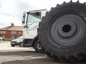 48080R50 Michelin Agribib tractor tyre on Stocks Wheels a