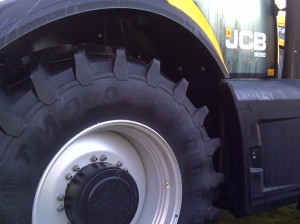 Trelleborg 65075R38 TM900 Tractor Tyre Fitted to Rear of JCB 8280